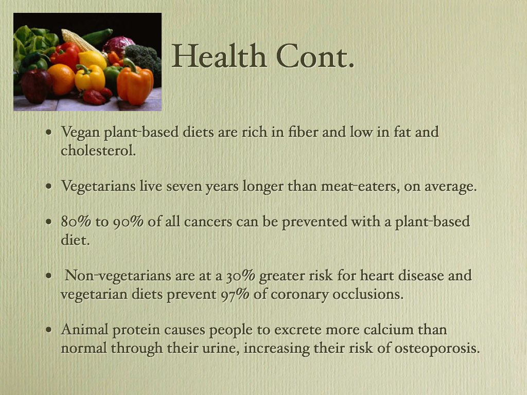 an overview of several reasons to become a vegeterian Why vegetarians are eating meat several turns of events have made both of us for andrew and many of our ex-vegetarian friends, the ethical reasons for.